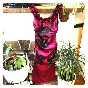 Le Chateau Floral Dress